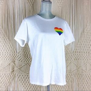 Prince Peter Collection Pride Rainbow Heart Tee